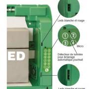 Box AIVIA serie 230 con allarme, condizionamento, chiusura con codice numerico e chiamata di emergenza