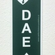 Cartello forex direzionale per postazioni DAE - alto