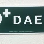 Cartello forex direzionale per postazioni DAE - destra