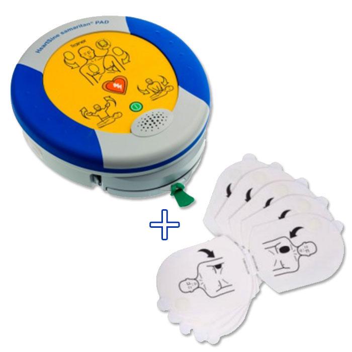 Defibrillatore Trainer + elettrodi