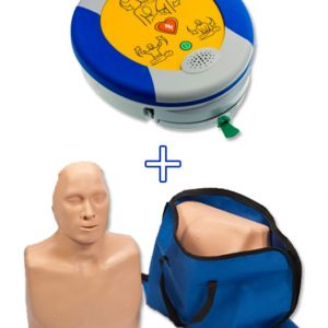 Defibrillatore Trainer + manichino