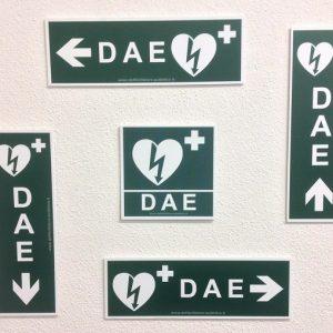 Set 5 cartelli in forex per segnalazione postazioni DAE