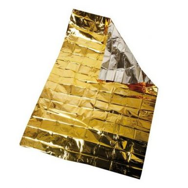 Coperta isotermica oro argento