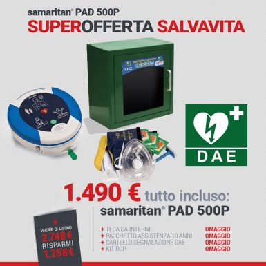 offerta-defibrillatore-samaritan-pad-500p